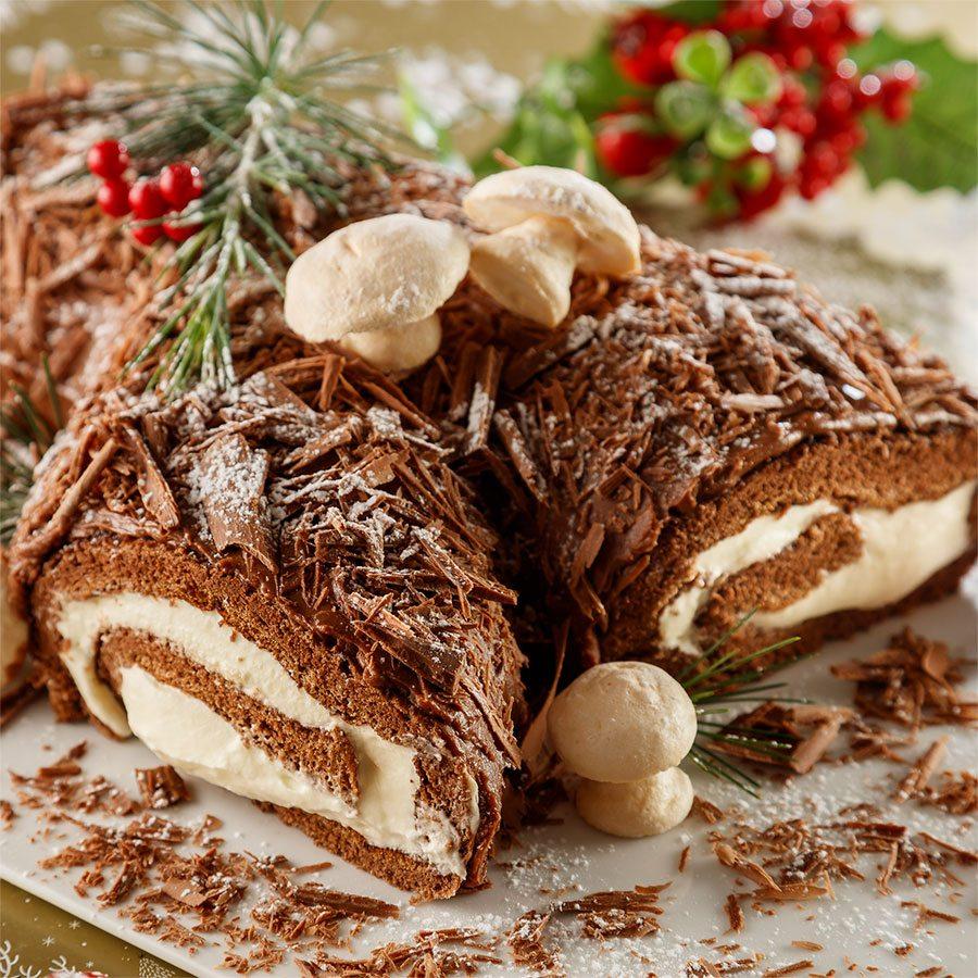Buche de Noel Cake Recipe   Gourmet Food World