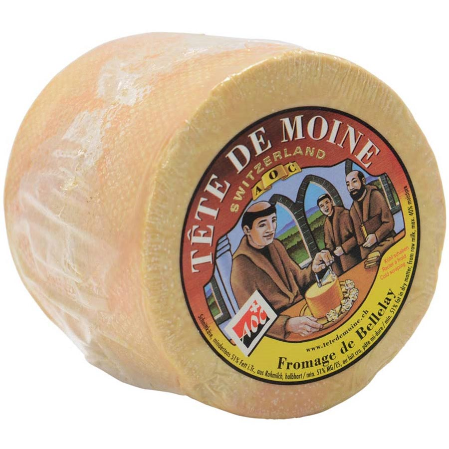 Fromage De Bellelay Tete De Moine Aoc 11558 on Color Number Fruit