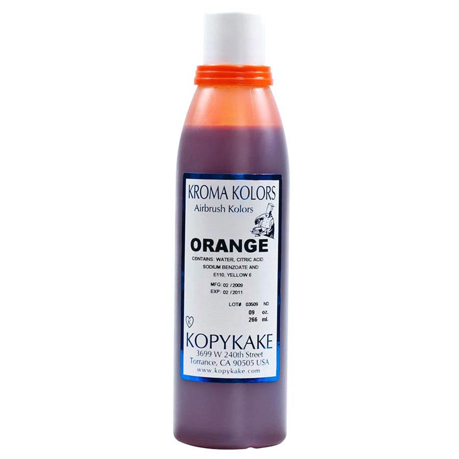 Food Coloring, Orange by kopykake from USA - buy Baking and Pastry ...