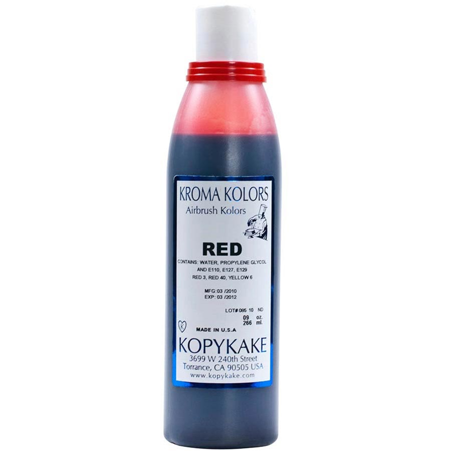 Food Coloring, Red by kopykake from USA - buy Baking and Pastry ...