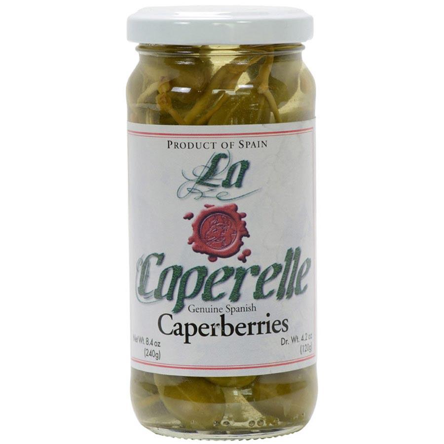 Ripe Caper Berries Caperberry Caperberries In Brine