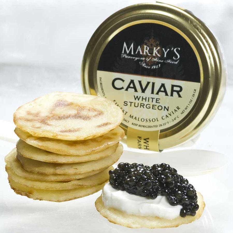 American White Sturgeon Malossol Caviar ...