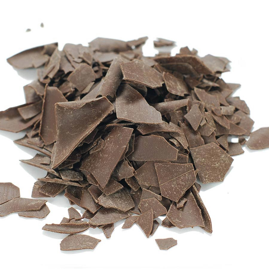 Dark Chocolate Shavings Large Flat By Pastry 1 Buy
