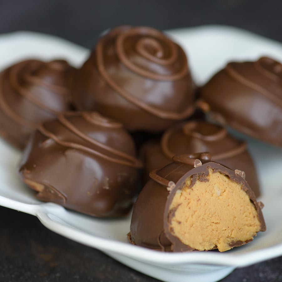 Peanut Butter Truffles Recipe | Gourmet Food World