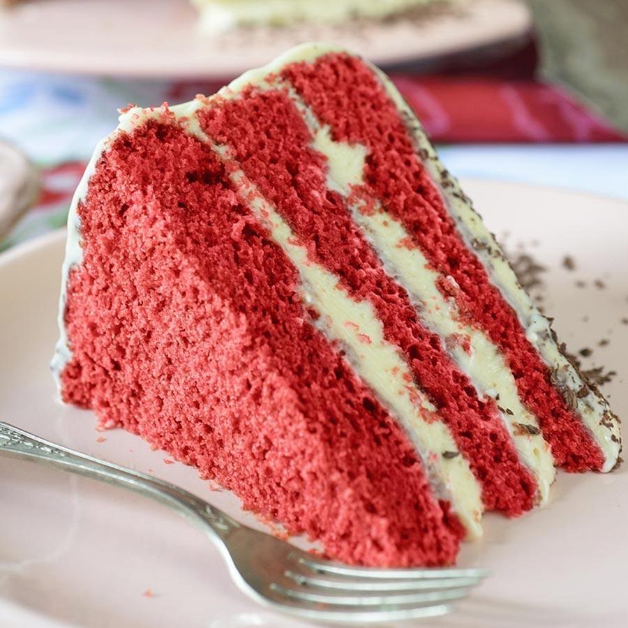 Red Velvet Cake Gourmet Food World