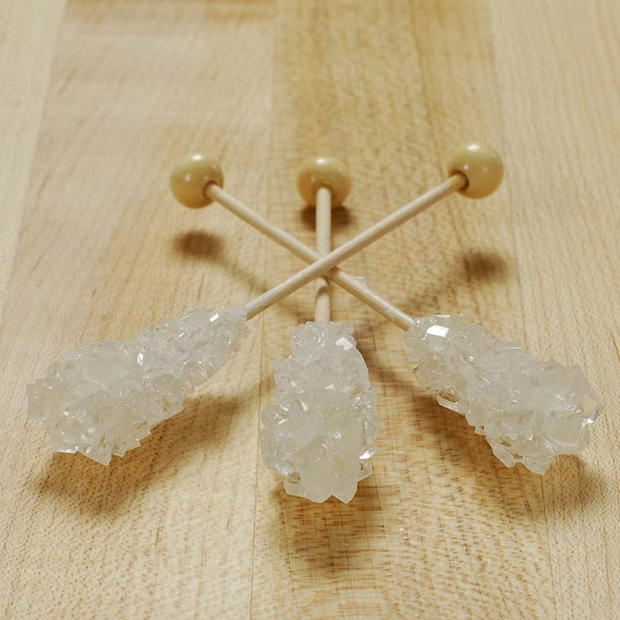 Rock Candy Clear Swizzle Sticks From Usa Buy Baking And