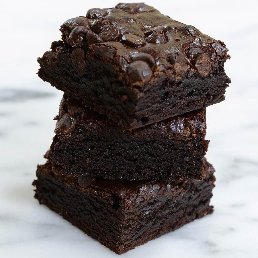 Triple Chocolate Chip Brownies | Buy Brownies Online