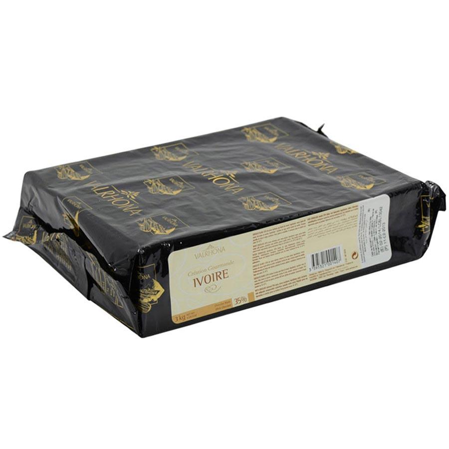 Valrhona White Chocolate Block - Ivoire by Valrhona - buy Baking ...