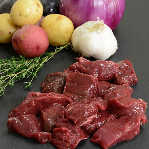 American Bison Stew Meat | Gourmet Food World