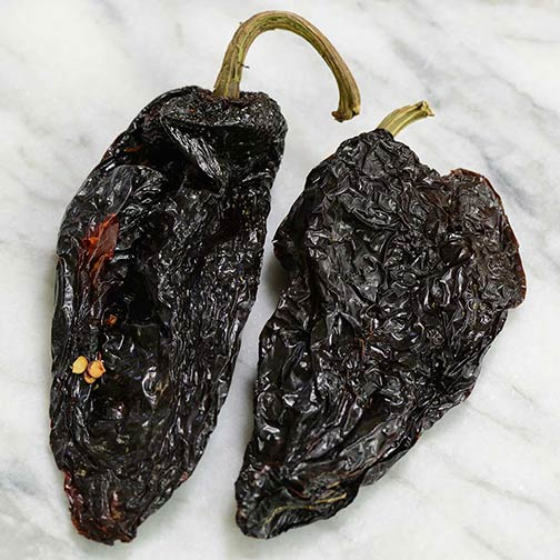 Ancho/Pasilla Chili Peppers - Dried