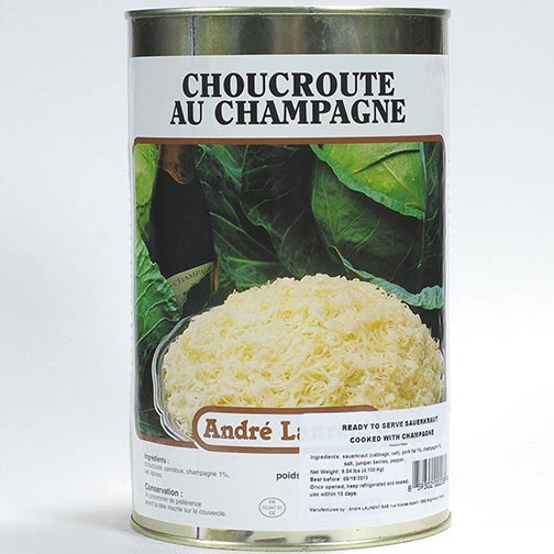 Sauerkraut with Champagne