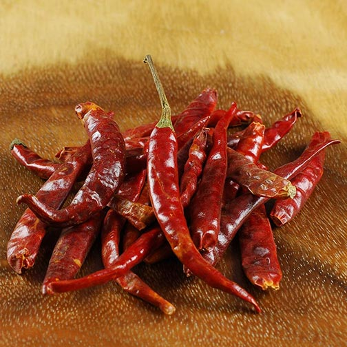 Arbol Chili Peppers - Dried