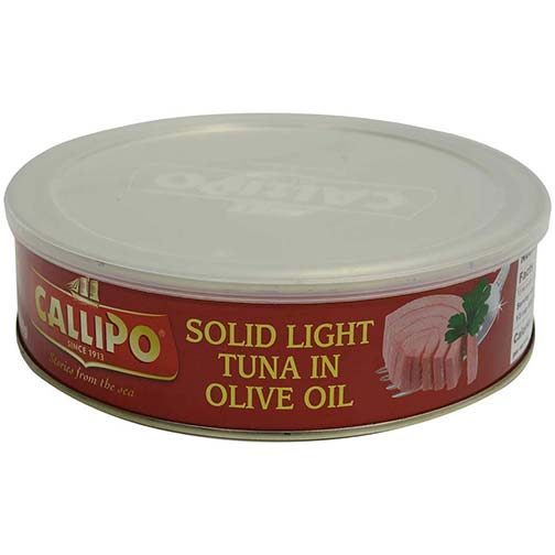 Solid Light Tuna in Olive Oil