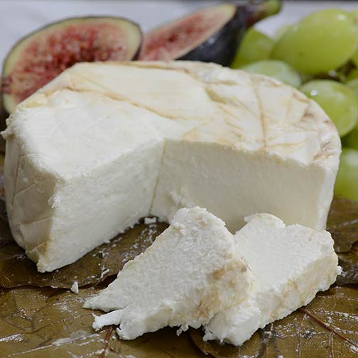 Capriole O'Banon Chesnut Leaf Goat Cheese | Gourmet Food World