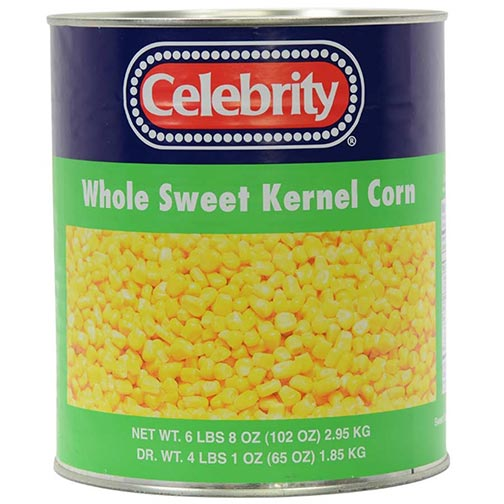 Whole sweey Kernel Corn