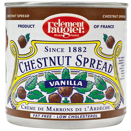 Chestnut Spread Sweetned with Vanilla (Creme de Marrons)