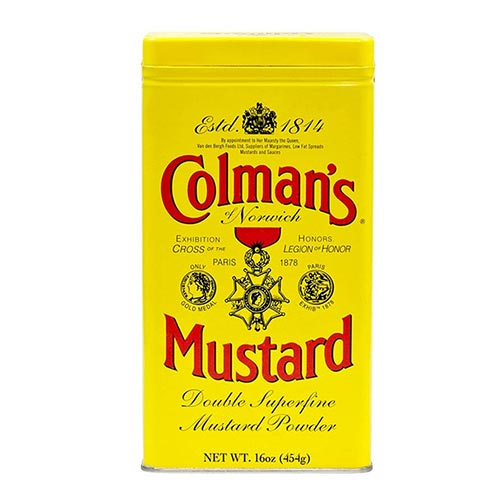 Colman's Double Superfine Mustard Powder