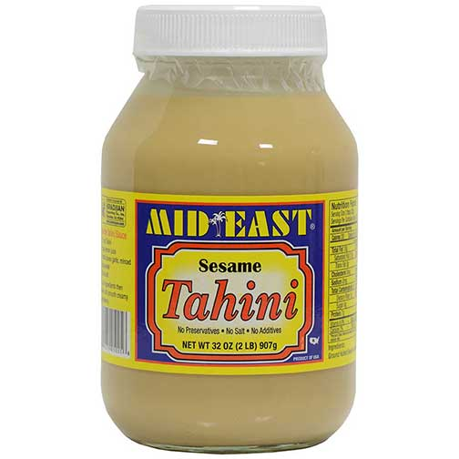 Tahini - Pure Ground Sesame Seed