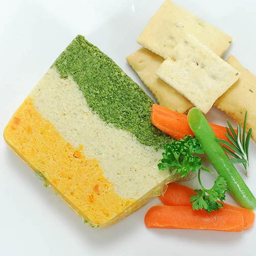 Three-Layer Vegetable Pate - Party Size