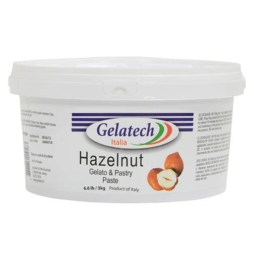 Hazelnut Gelato and Pastry Paste