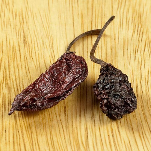 Ghost Chili - Dry, World's Hottest Pepper