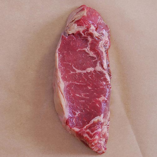 Grass Fed Strip Loin, Whole, Cut To Order