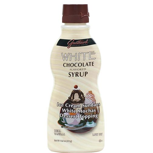 Guittard White Chocolate Syrup
