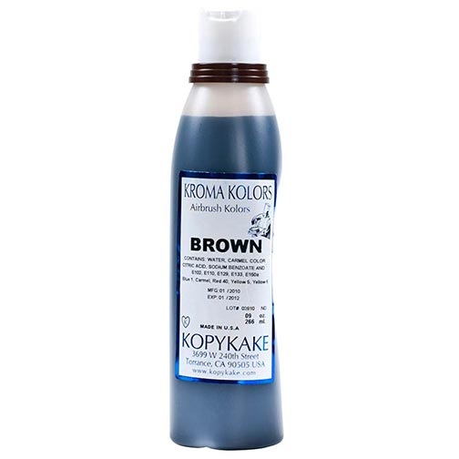 Food Coloring, Brown
