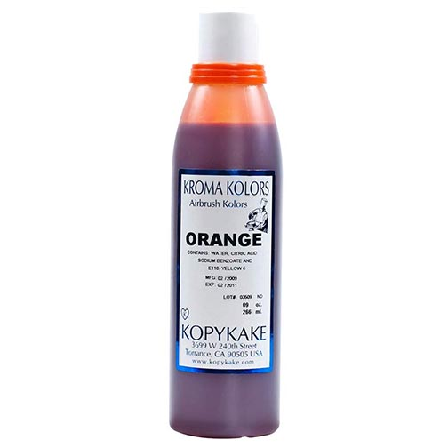 Food Coloring, Orange by kopykake from USA - buy Baking and Pastry ...