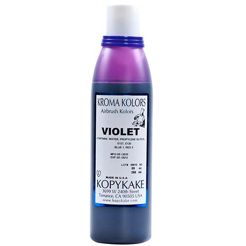 Food Coloring, Violet by kopykake from USA - buy Baking and Pastry ...