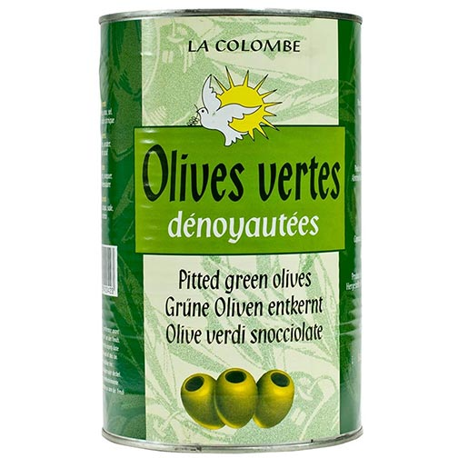Pitted French Green Olives