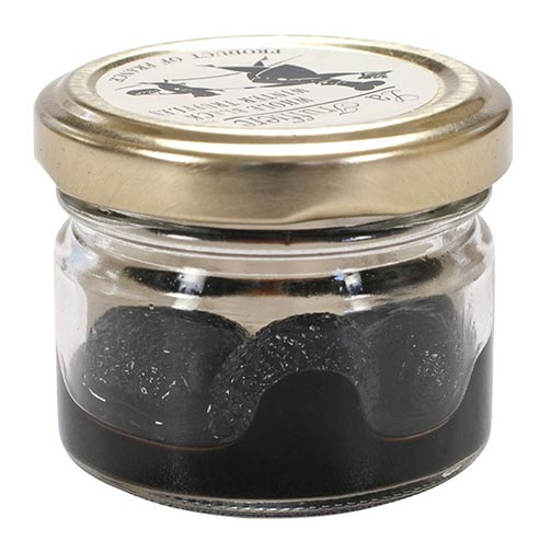 Whole Black Winter Truffles - Preserved