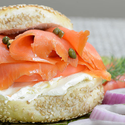 Lox and Bagel REcipe