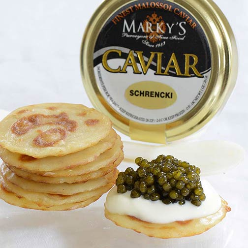Amur Sturgeon Caviar, Royal Amber Gift Set