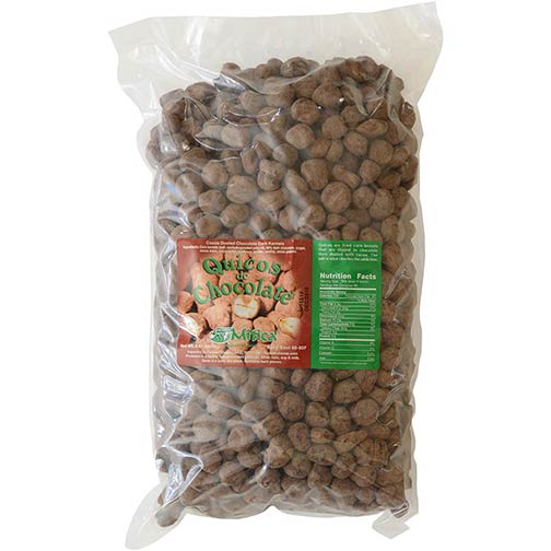 Chocolate Covered Corn Kernels - Quicos de Chocolate