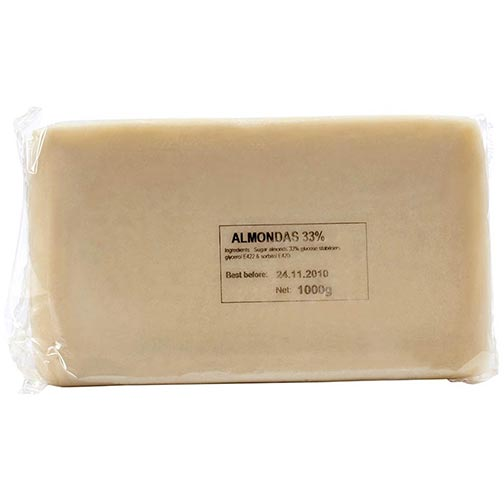 Almond Paste 33% - Marzipan