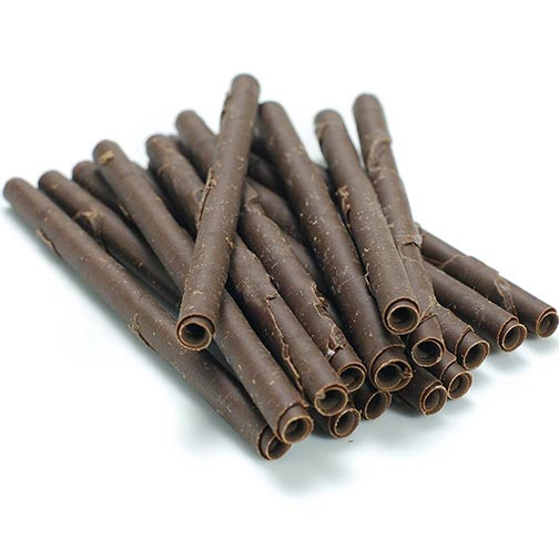 Chocolate Cigarettes For Cake Decorating