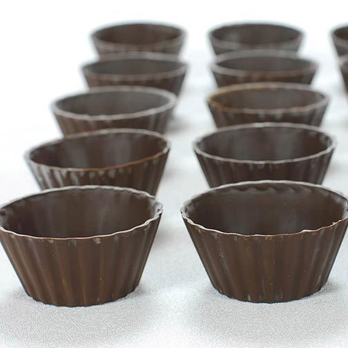 Dark Victoria Chocolate Cup - 2.5 Inch