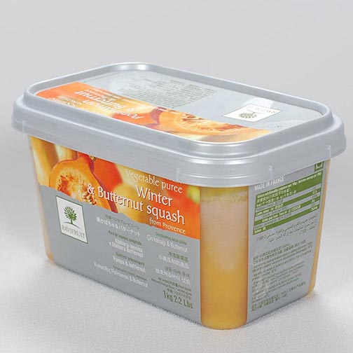 Winter and Butternut Squash Puree, Frozen