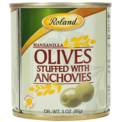 Anchovy Stuffed Green Olives