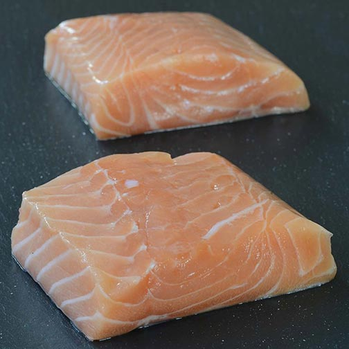 True North Salmon Portion, Skin On
