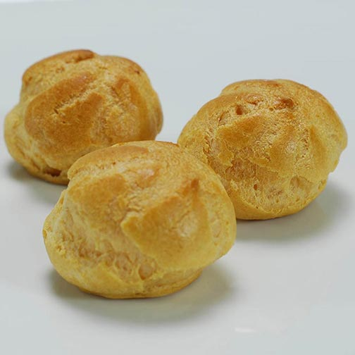 Cream Puff Mini Shells - 1.75 inch
