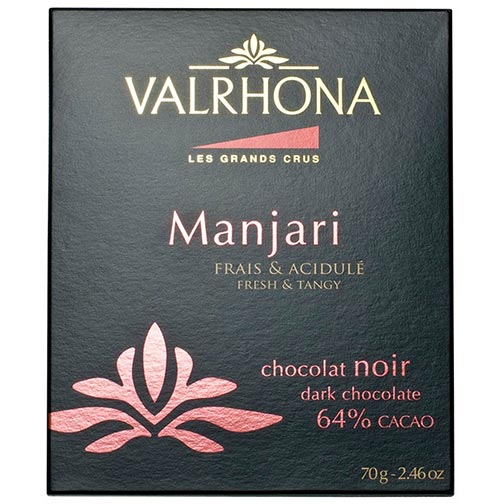 Valrhona Manjari Dark Chocolate Bar - 64%