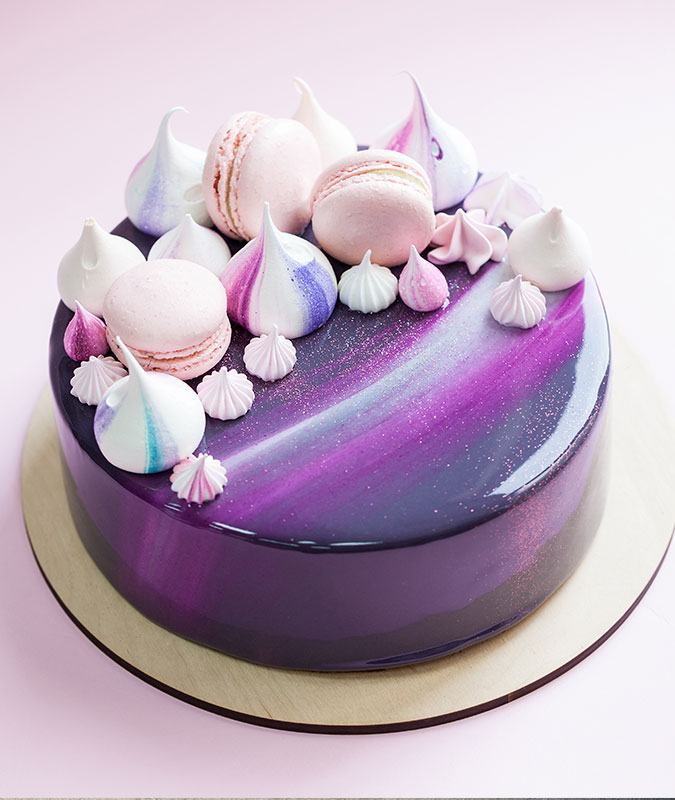 Birthday Cake That Looks Like A Marble