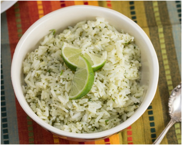 Cilantro Lime Rice by Big Flavors From A Tiny Kitchen