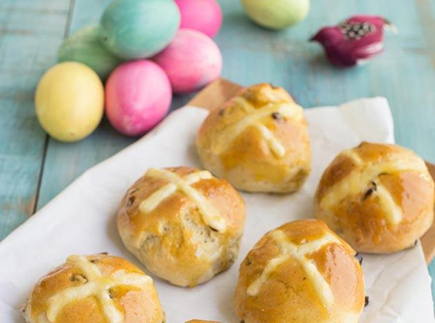 Easter Hot Cross Buns Recipes
