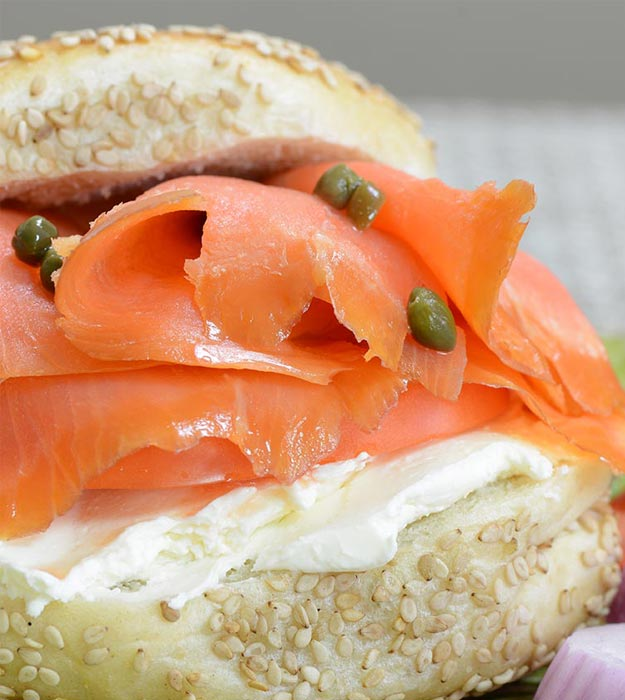 Lox And Bagel  For Mother's Day Breakfast