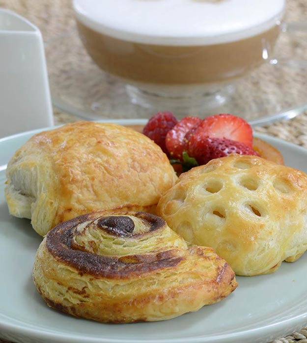 Assorted Pastries For Mother's Day Breakfast
