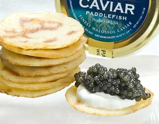 Caviar Accompaniments
