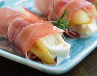 Prosciutto and Burrata Appetizer